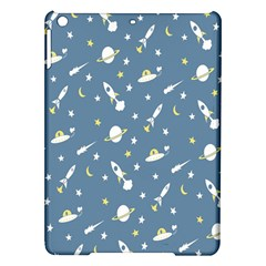 Space Saturn Star Moon Rocket Planet Meteor Ipad Air Hardshell Cases by Jojostore