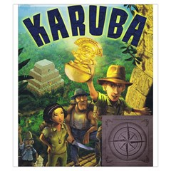 Karuba Grey Tile Bag Box Art By David Gullett Back