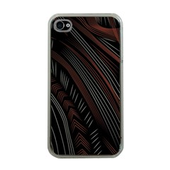 Trailer Drax Line Brown White Chevron Galaxy Space Apple Iphone 4 Case (clear) by Jojostore