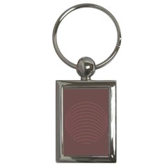 Tumblr Static Wave Grey Fingerprint Key Chains (rectangle)  by Jojostore