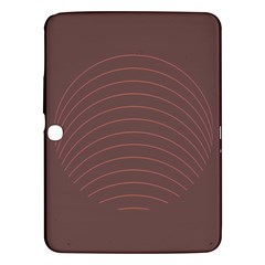 Tumblr Static Wave Grey Fingerprint Samsung Galaxy Tab 3 (10 1 ) P5200 Hardshell Case  by Jojostore