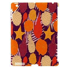 Tropical Mangis Pineapple Fruit Tailings Apple iPad 3/4 Hardshell Case (Compatible with Smart Cover) by Jojostore