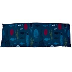 Sea World Fish Ccoral Blue Water Body Pillow Case Dakimakura (two Sides) by Jojostore