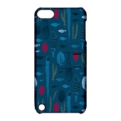 Sea World Fish Ccoral Blue Water Apple Ipod Touch 5 Hardshell Case With Stand by Jojostore