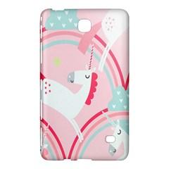 Unicorn Animals Horse Pink Rainbow Samsung Galaxy Tab 4 (7 ) Hardshell Case  by Jojostore