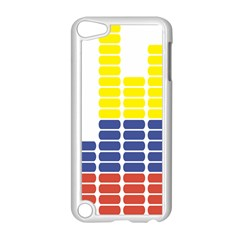 Volumbia Olume Circle Yellow Blue Red Apple Ipod Touch 5 Case (white) by Jojostore