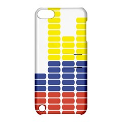 Volumbia Olume Circle Yellow Blue Red Apple Ipod Touch 5 Hardshell Case With Stand by Jojostore