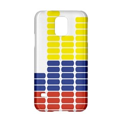 Volumbia Olume Circle Yellow Blue Red Samsung Galaxy S5 Hardshell Case  by Jojostore