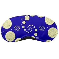 Vortical Universe Fractal Blue Sleeping Masks by Jojostore
