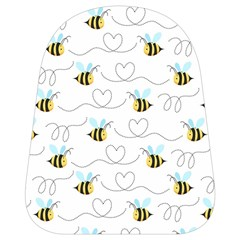 Wasp Bee Fly Yellow Black Blue Hanny Love School Bags (small)  by Jojostore