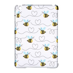 Wasp Bee Fly Yellow Black Blue Hanny Love Apple Ipad Mini Hardshell Case (compatible With Smart Cover) by Jojostore