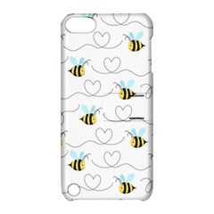 Wasp Bee Fly Yellow Black Blue Hanny Love Apple Ipod Touch 5 Hardshell Case With Stand by Jojostore