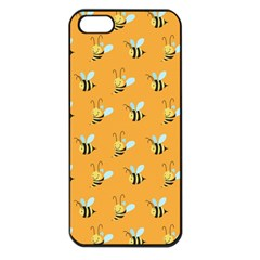Wasp Bee Hanny Yellow Fly Animals Apple Iphone 5 Seamless Case (black) by Jojostore