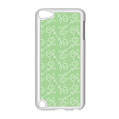 Formula Leaf Floral Green Apple Ipod Touch 5 Case (white) by Jojostore