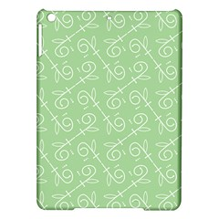 Formula Leaf Floral Green Ipad Air Hardshell Cases by Jojostore