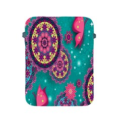 Vintage Butterfly Floral Flower Rose Star Purple Pink Green Yellow Animals Fly Apple Ipad 2/3/4 Protective Soft Cases by Jojostore