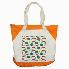 Summer Fruit Watermelon Water Guava Onions Accent Tote Bag by Jojostore