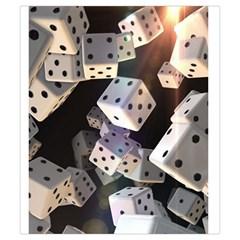 Generic Small Dice Bag By David Gullett   Drawstring Pouch (small)   Za7z31zcztcc   Www Artscow Com Back
