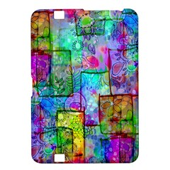 Rainbow Floral Doodle Kindle Fire Hd 8 9  by KirstenStar