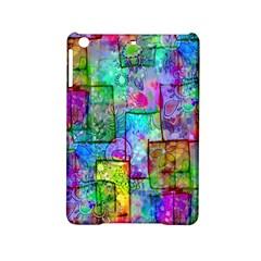 Rainbow Floral Doodle Ipad Mini 2 Hardshell Cases by KirstenStar
