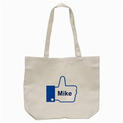 Thumb Up Tote Bag (cream) by makeunique