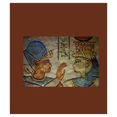 Imhotep Brown Stone Bag By David Gullett   Drawstring Pouch (small)   Xyrhbmxmqeeu   Www Artscow Com Back