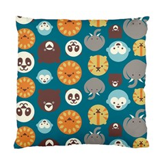Animal Pattern Standard Cushion Case (two Sides) by Nexatart