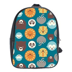 Animal Pattern School Bags(large)
