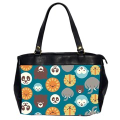 Animal Pattern Office Handbags (2 Sides)  by Nexatart