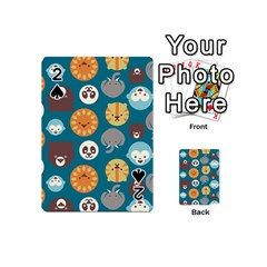 Animal Pattern Playing Cards 54 (mini)