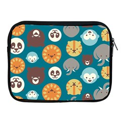 Animal Pattern Apple Ipad 2/3/4 Zipper Cases
