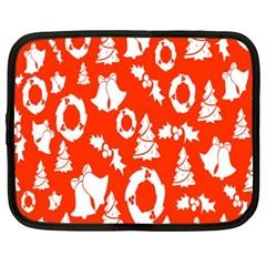 Backdrop Background Card Christmas Netbook Case (xxl)