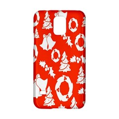 Backdrop Background Card Christmas Samsung Galaxy S5 Hardshell Case