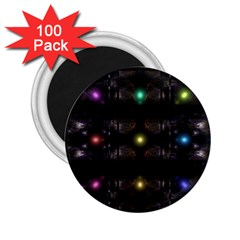 Abstract Sphere Box Space Hyper 2 25  Magnets (100 Pack)