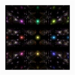 Abstract Sphere Box Space Hyper Medium Glasses Cloth (2 Side) by Nexatart