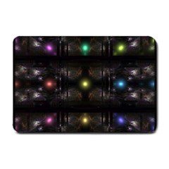 Abstract Sphere Box Space Hyper Small Doormat