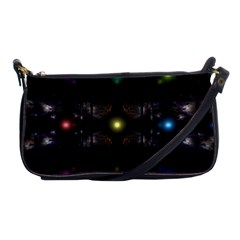 Abstract Sphere Box Space Hyper Shoulder Clutch Bags by Nexatart