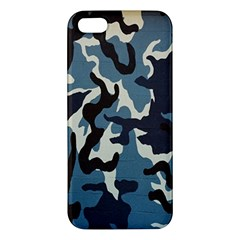 Blue Water Camouflage Iphone 5s/ Se Premium Hardshell Case