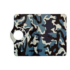 Blue Water Camouflage Kindle Fire Hd (2013) Flip 360 Case by Nexatart