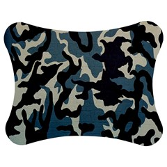 Blue Water Camouflage Jigsaw Puzzle Photo Stand (bow) by Nexatart
