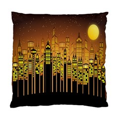 Buildings Skyscrapers City Standard Cushion Case (two Sides)