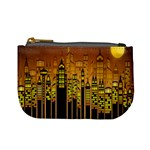 Buildings Skyscrapers City Mini Coin Purses Front