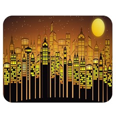 Buildings Skyscrapers City Double Sided Flano Blanket (medium)