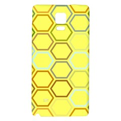 Bee Hive Pattern Galaxy Note 4 Back Case
