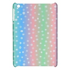 Christmas Happy Holidays Snowflakes Apple Ipad Mini Hardshell Case