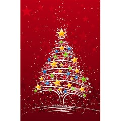 Colorful Christmas Tree 5 5  X 8 5  Notebooks