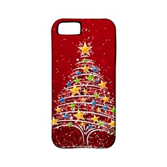 Colorful Christmas Tree Apple Iphone 5 Classic Hardshell Case (pc+silicone)