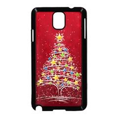Colorful Christmas Tree Samsung Galaxy Note 3 Neo Hardshell Case (black)