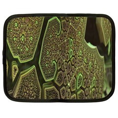 Fractal Complexity 3d Dimensional Netbook Case (xl)  by Nexatart