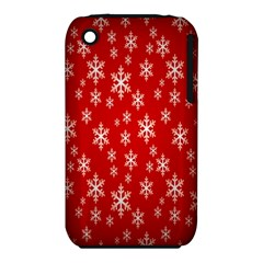 Christmas Snow Flake Pattern Iphone 3s/3gs